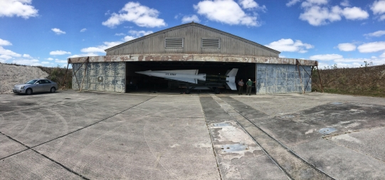 A relic of heightened thermonuclear tensions, this Nike-Hercules missile sits on display in one of the three barns at HM-69 in Everglades National Park. Armed and fueled, the 41-foot-long missile weighed 11,000 pounds and represented the U.S.'s last line of defense against nuclear attack from the south.